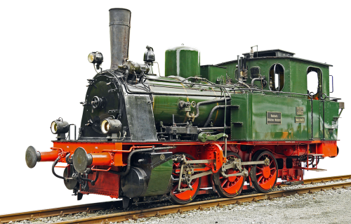 locomotive steam locomotive old