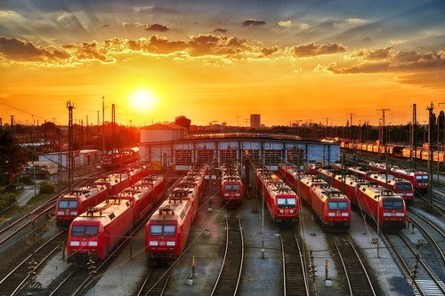 locomotive  train car  railway