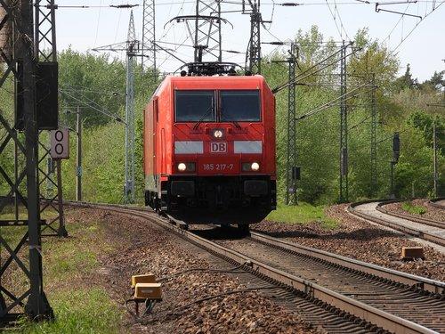 locomotive  electric locomotive  track