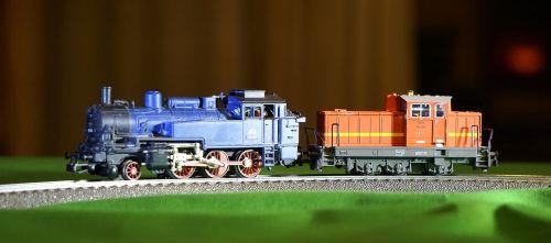 locomotives steam diesel