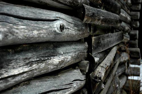 log a log wall texture