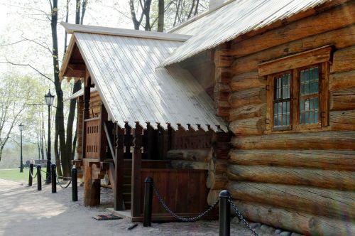 log cabin wood cabin hut