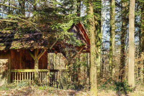 log cabin forest lodge seefeld