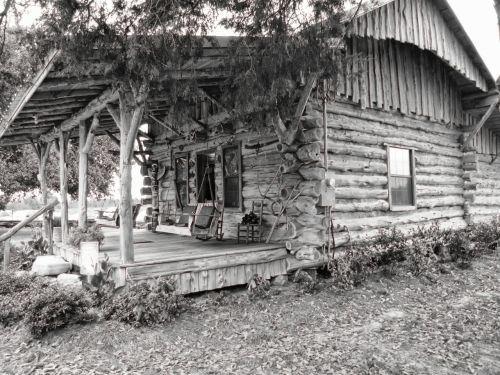 log cabin house home