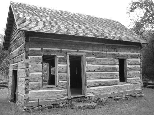 log cabin old cabin