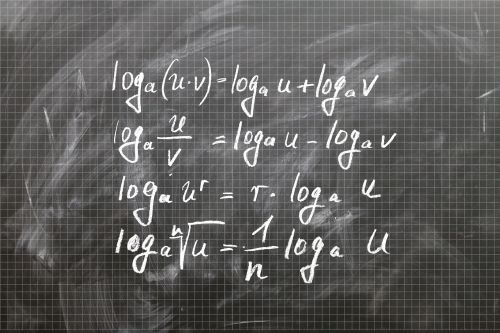 logarithm board mathematics