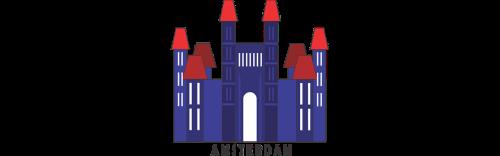 logotipas,miestas,architektūra,turizmas,paminklas,pastatas,Amsterdamas