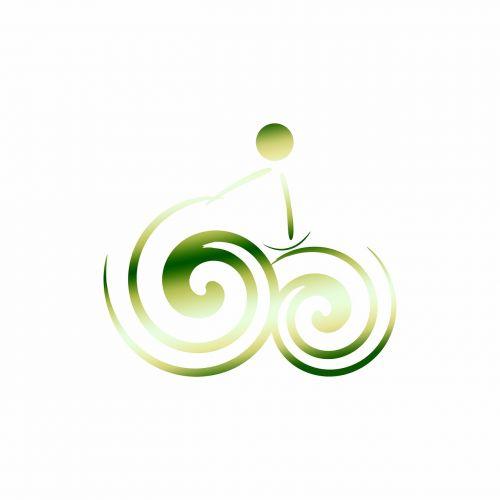 logotipas,dviratis,žalias,ypač,logo elementas,elementas,dviračiu