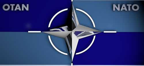 logo nato blue