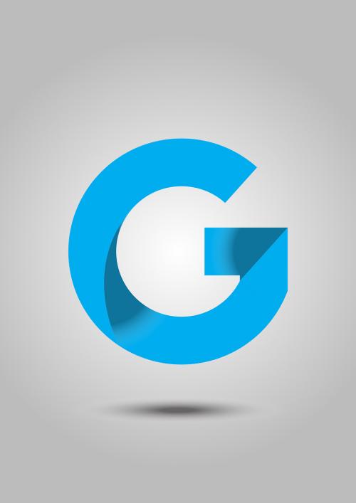 logo letter g logo text