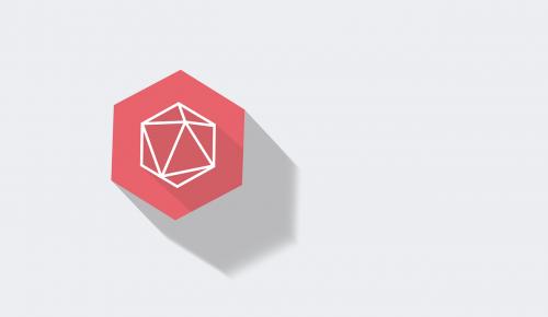 logo hexagonal 6 giac