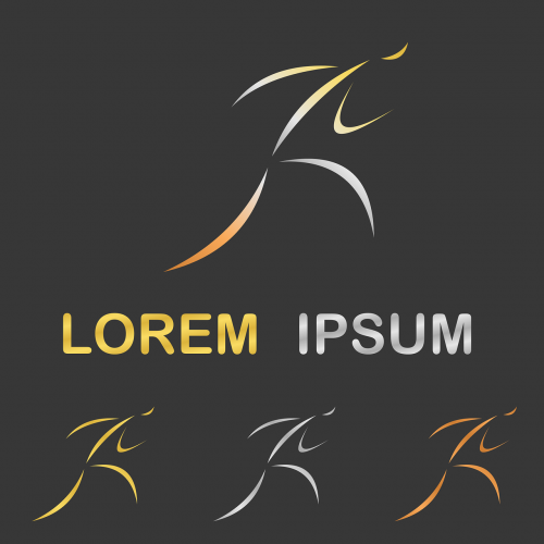 logo race stylized