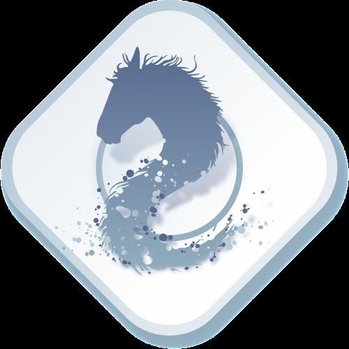 logo horse humidity