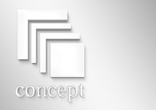 logo concept expressionless
