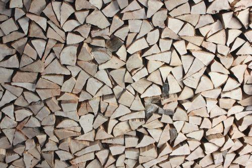 logs wood fire