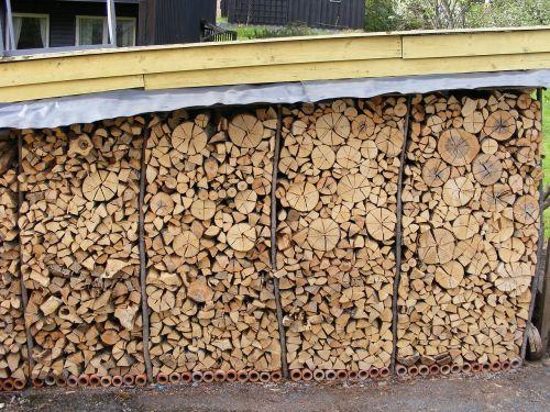 logs firewood firewood rack