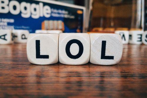 lol laugh out loud text