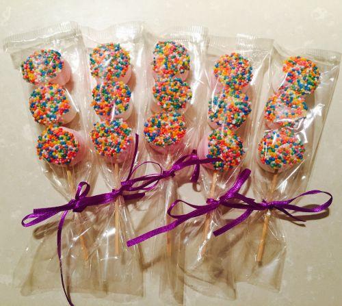 lollipop marshmallow treat