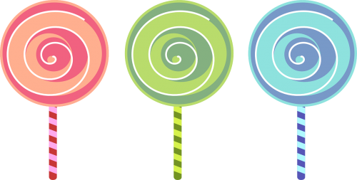 lollipop sweets colorful