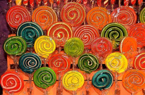 lollipops forms colors