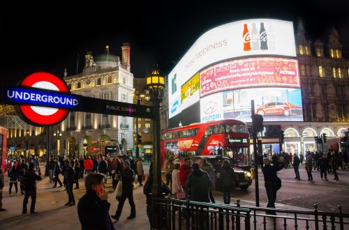 london piccadilly circus england