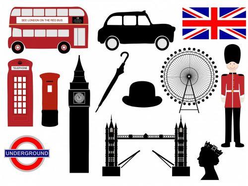 london icons symbols