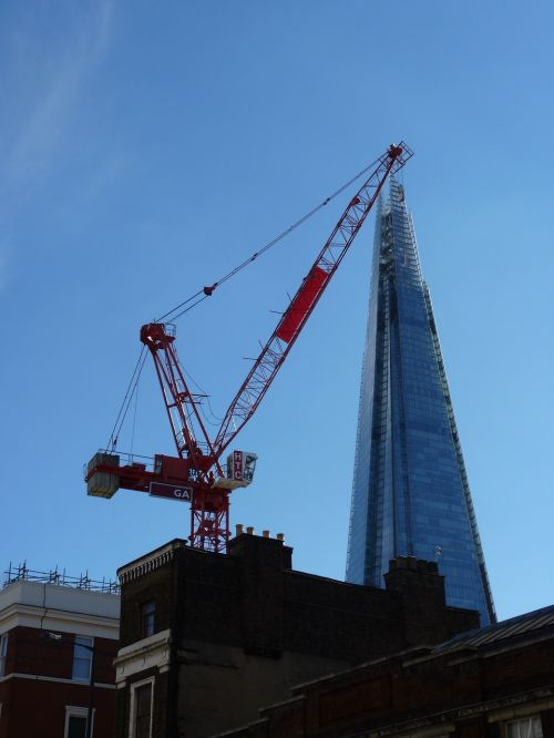 london unusual shard