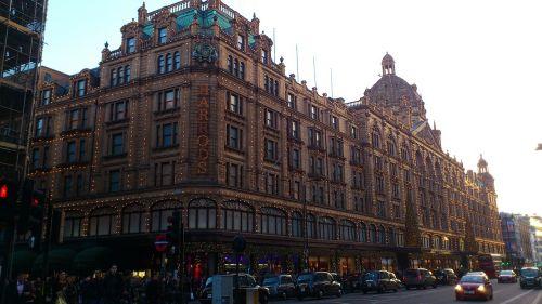 Londonas,miestas,pastatas,architektūra,Anglija,žinomas,istorinis apsipirkimas,apsipirkimas,Harrods universalinė parduotuvė,klasikinis,prabanga