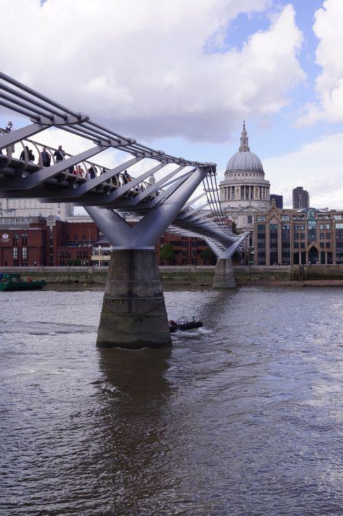 london st paul millenium bridge
