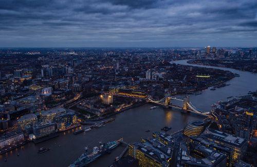 london thames river tower bridge