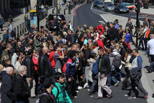 london pedestrian crossing crossing