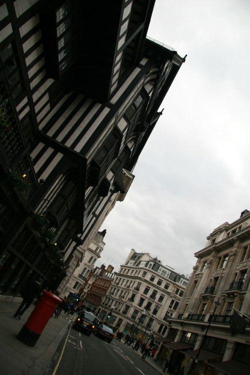 london urban street