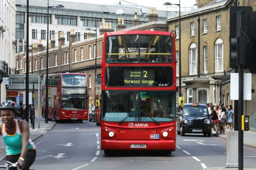 london bus traffic