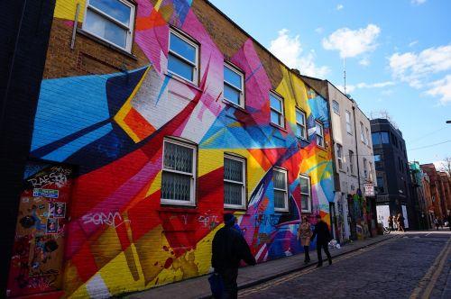 london graffitti streets