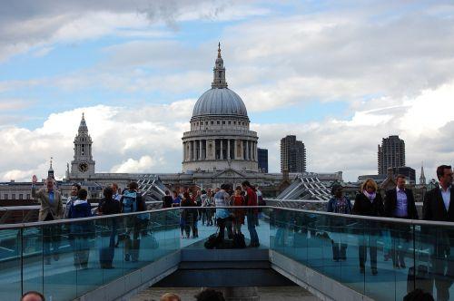 london bridges millennium bridge
