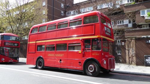 london double decker bus bus