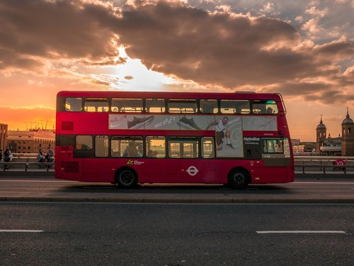 london  bus  city