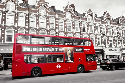 london  bus  suburban