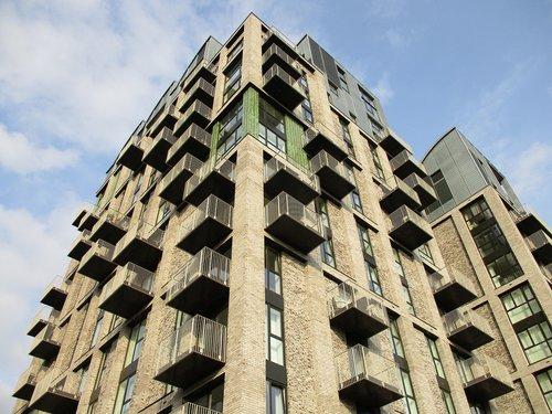 london  architecture  flats