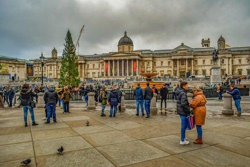 london  trafalgar square  square