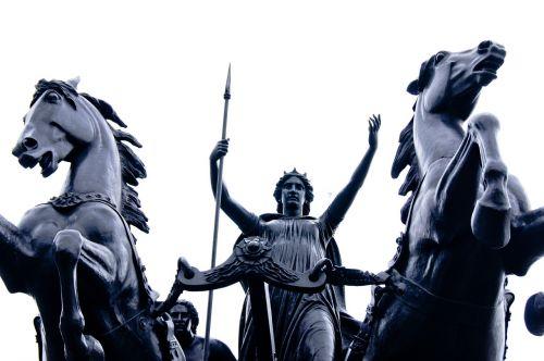 london monument horse