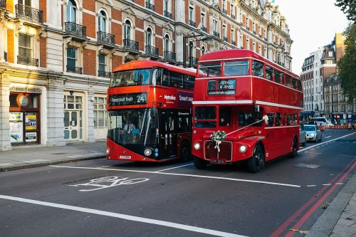 london bus double decker