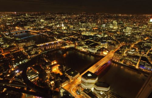 london night city