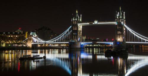 london bridge night london