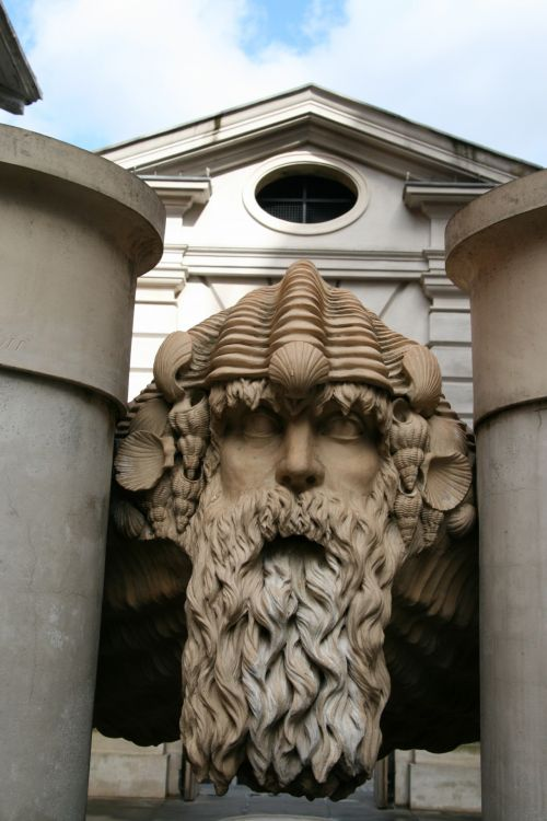 London Carved Bust