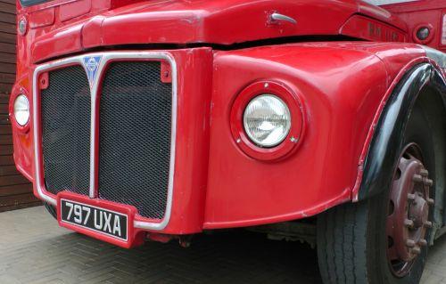 London Double Decker Bus Radiator