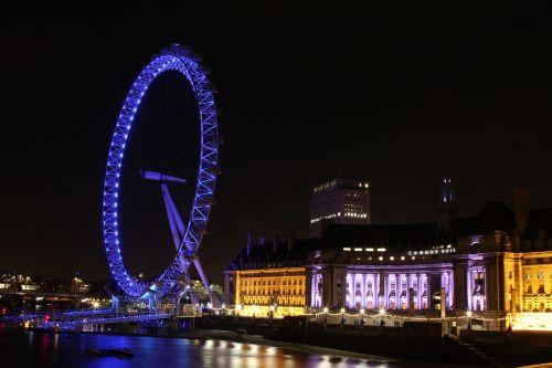 london eye london streets london at night