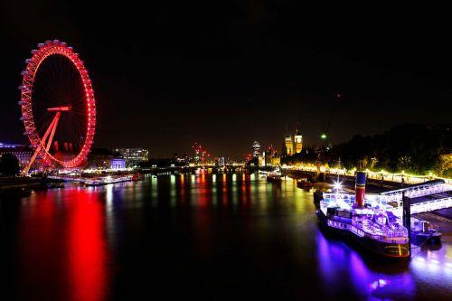 london eye river thames london