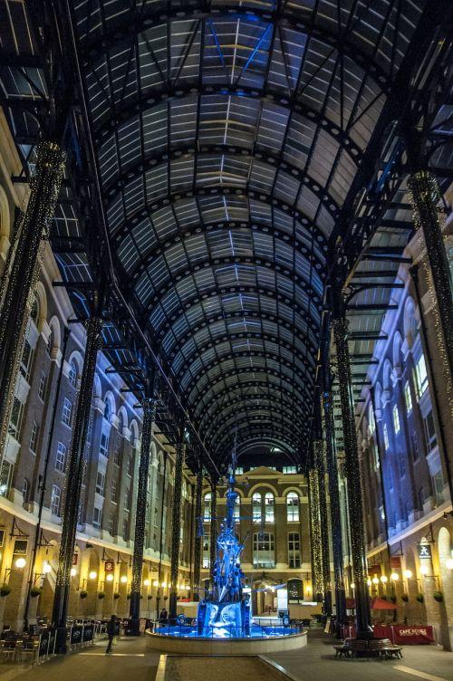 london galleria night london