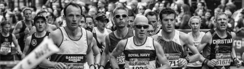 london marathon running runners